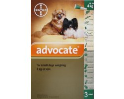 Advocate Small Dog Green   3 Pack