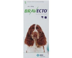 Bravecto Chewables Medium Dog Green  Single Pack 500mg