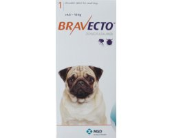 Bravecto Chewables Small Dog Orange Double Pack 250mg