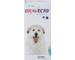 Bravecto Chewables Extra Large Dog Pink  Single Pack 1400mg