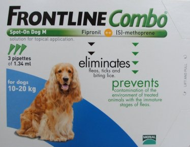 Frontline Combo Medium Dog Blue  3 Pack