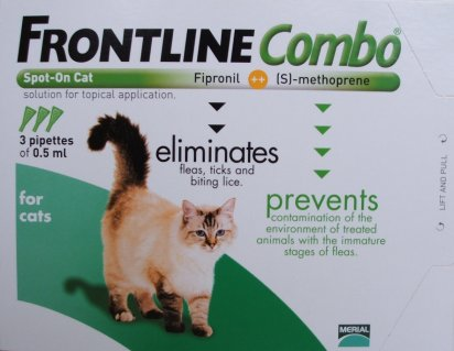 Frontline Combo Cat Green 12 Pack