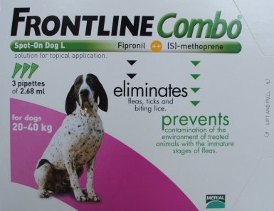 Frontline Combo Large Dog Purple  3 Pack