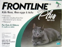 Frontline Plus Cat Green  3 Pack