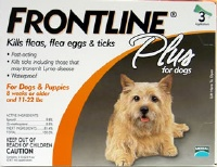 Frontline Plus Small Dog Orange  3 Pack