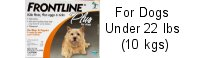 Frontline Plus Small Dog Orange