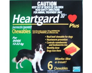 Heartgard Chewables Green  6 Pack