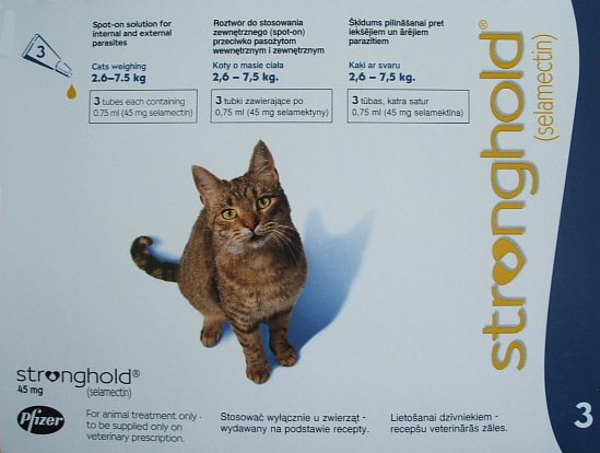Stronghold Cat Blue 3 Pack
